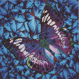 Flutter by Mauve Craft Kit By Diamond Dotz