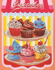 Cupcakes Craft Kit By Diamond Dotz
