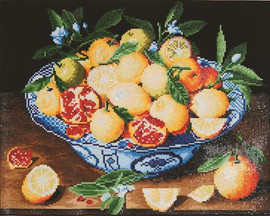 Still Life with lemons Craft Kit By Diamond Dotz