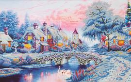 Winter Village Craft Kit By Diamond Dotz