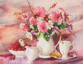 Romantic Tea Time Craft Kit By Diamond Dotz