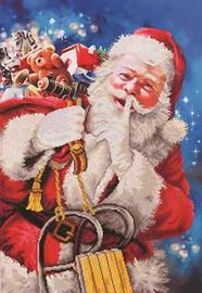 Santa's Secret Craft Kit By Diamond Dotz