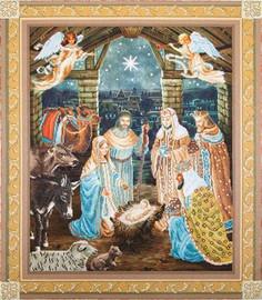 Nativity Scene Craft Kit By Diamond Dotz