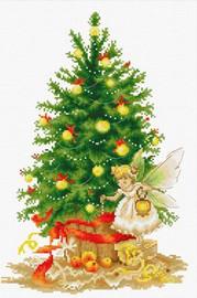 Christmas Tree Cross Stitch Kit By Luca S