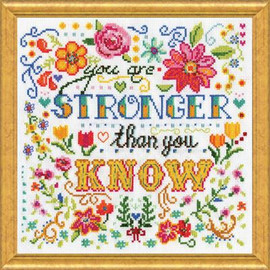 Stronger Cross Stitch Kit By Design Works