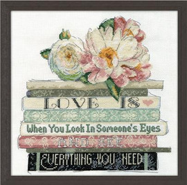 Love Is Cross Stitch Kit By Design Works