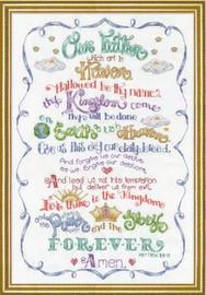 Lord's Prayer Cross Stitch Kit By Design Works