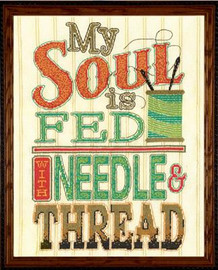 Needle and Thread Cross Stitch Kit By Design Works