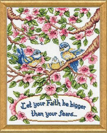 Leap of Faith Cross Stitch Kit By Design Works