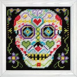 Skull Tapestry Kit By Design Works