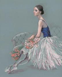 Ballet Dancer Cross Stitch Kit By Riolis
