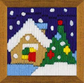 Christmas Eve Long Stitch Kit By Riolis