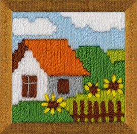 Cottage Garden Long Stitch Kit By Riolis
