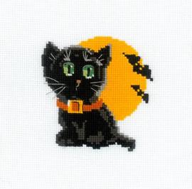 Black Cat Cross Stitch Kit By Riolis
