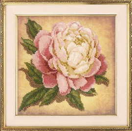 Peony   Cross Stitch Kit By Riolis