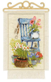 Cottage Garden Spring Cross Stitch Kit By Riolis