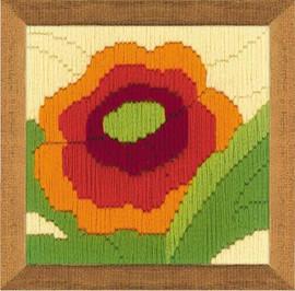 Poppy Longstitch By Riolis