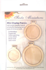 Miniature Display Frames - Circles By Siesta