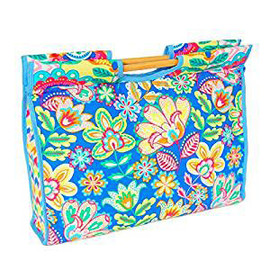 Margarita  Craft Bag with Wooden Handles By Hobby Gift