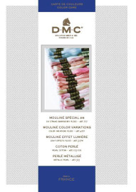 New DMC Shade Colour Card