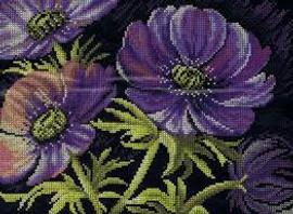 Lilac Lake Cross Stitch Kit by Lanarte