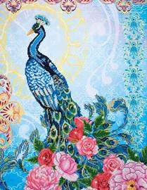 Exotic Peacock Craft Kit By Diamond Dotz