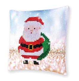 Santa Claus Sack Pillow Craft Kit By Diamond Dotz