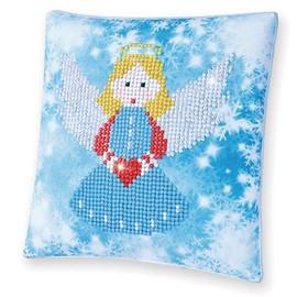 Christmas Angel Pillow Craft Kit By Diamond Dotz