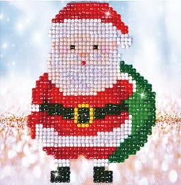 Santa Claus Sack Picture Craft Kit By Diamond Dotz