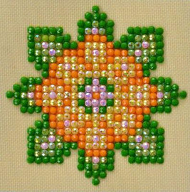 Flower Mandala 1 Craft Kit By Diamond Dotz