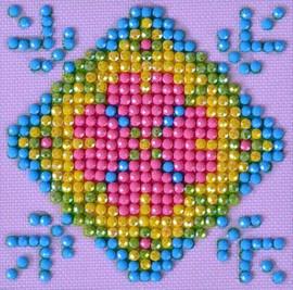 Patchwork Mandala 2 Craft Kit By Diamond Dotz