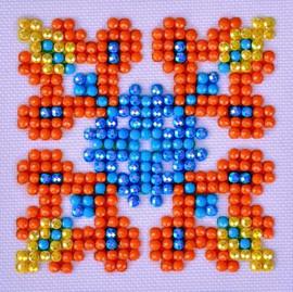 Autumn Mandala 2 Craft Kit By Diamond Dotz