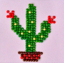 Texas Bloom Craft Kit By Diamond Dotz