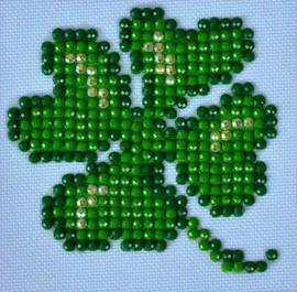 Lucky Leaves Craft Kit By Diamond Dotz