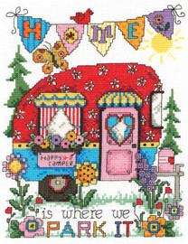 Happy Camper Cross Stitch Chart By Diane Arthurs