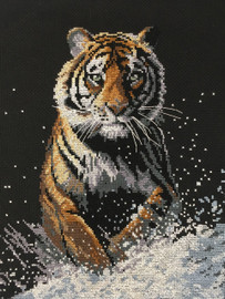 On the Prowl Cross Stitch Kit by Pollyanna Pickering