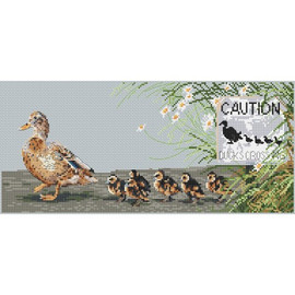 Ducks day Out Cross Stitch Kit by Pollyanna Pickering