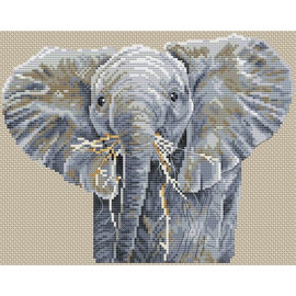 Big is Beautiful Cross Stitch Kit by Pollyanna Pickering