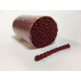 Pre Cut rug Wool  - Autumn Red 20