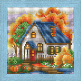 Diamond Painting Kit Autumn House