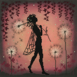 Dandelion Fairy Cross Stitch Kt By Bothy Threads
