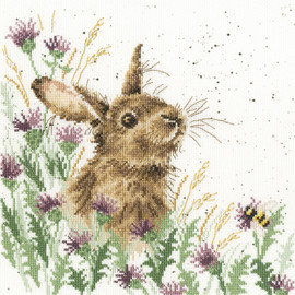 The Meadow Cross Stitch Kit By Bothy Threads
