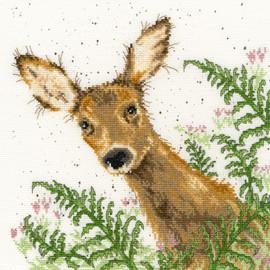 Doe A Deer Cross Stitch Kit By Bothy Threads