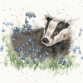 Bluebell Wood Cross Stitch Kit By Bothy Threads