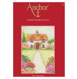 Cross Stitch Kit: Starter: Cottage Garden By Anchor