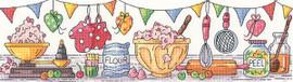 Ready, Steady, Bake! Cross Stitch Kit by Heritage Crafts