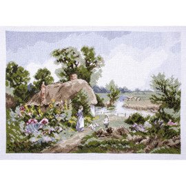 The Croft Cross Stitch Kit by Rural England