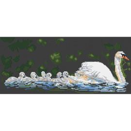 Swan Lake Cross Stitch Kit by Pollyanna Pickering