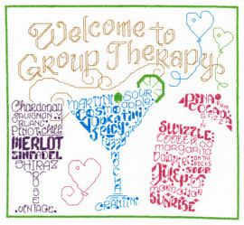 Lets go to Therapy Cross Stitch Chart