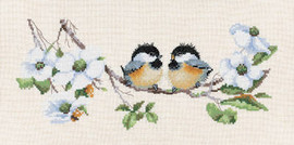 Blossom Buddies Cross Stitch Kit By Heritage